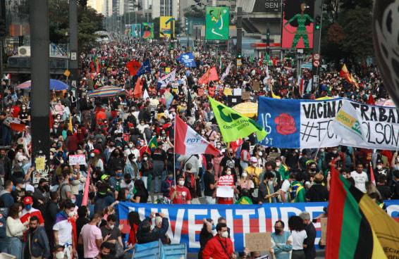 Esses vídeos ajudam a entender o tamanho das manifestações #3J