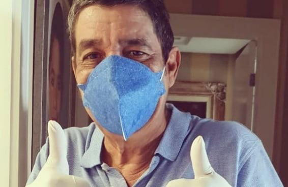 Zeca Pagodinho mandou um recado para quem é sommelier de vacina