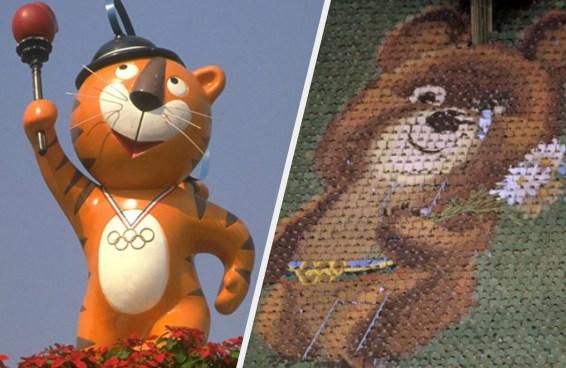 Você se lembra de quais Olimpíadas eram estes mascotes?