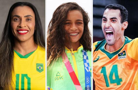 Qual atleta olímpico brasileiro você é?