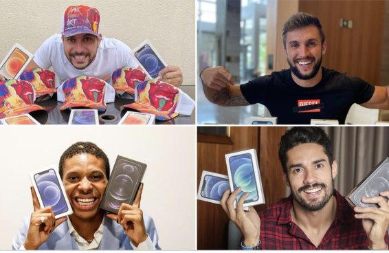 Ex-BBBs ganham mais de R$ 100 mil com sorteios no Instagram. Será que eles sabem que é proibido?