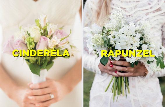 Planeje um casamento e te diremos que princesa da Disney é você
