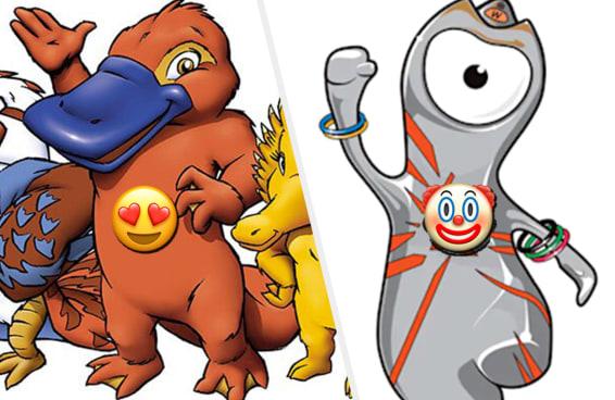 Elencamos os mascotes olímpicos do mais fofo até o mais feio