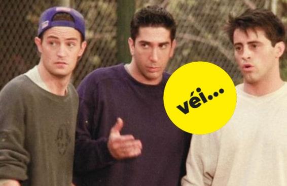 Os fãs de 'Friends' estão discutindo o machismo dos personagens masculinos