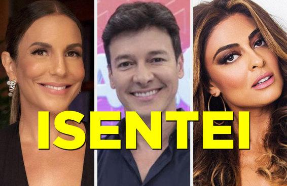 Qual celebridade isentona é você?