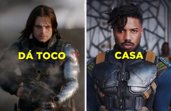 Diga se você pega ou dá o toco nesses boys da Marvel e a gente revela seu tipo!
