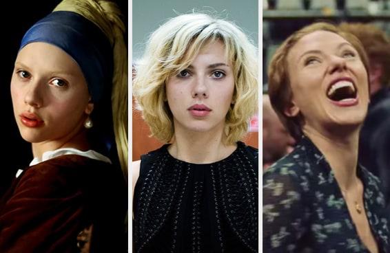 Quantos filmes da Scarlett Johansson você já viu?