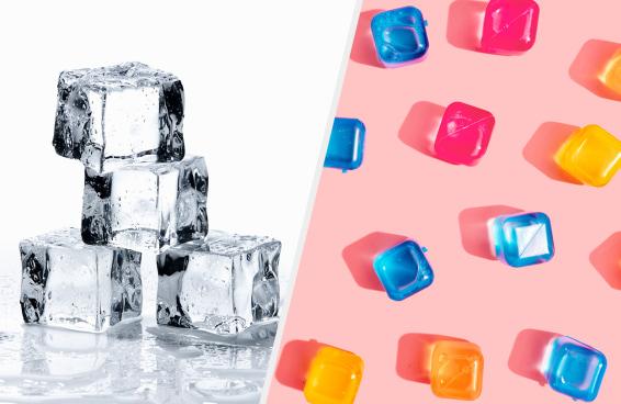Que tipo de cubo de gelo você é?