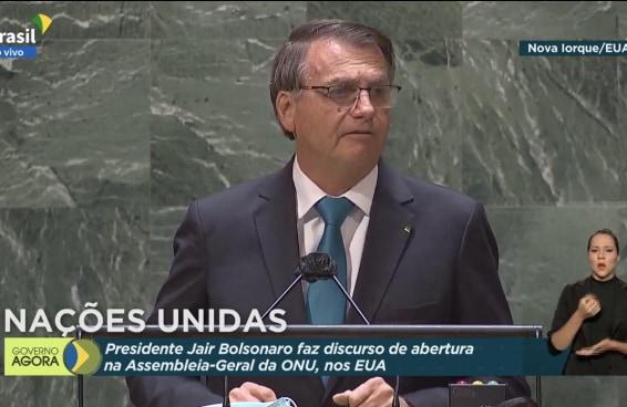 As pessoas estão desacreditadas com o discurso mentiroso de Bolsonaro na ONU
