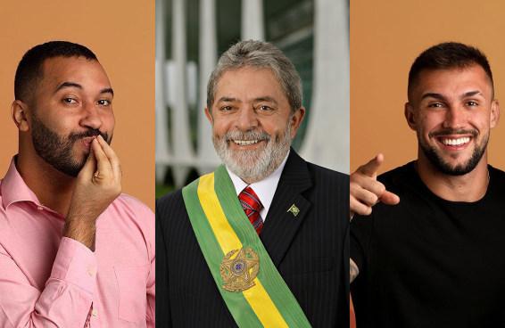 No que depender de Lula, ex-BBBs vão mudar o rumo das eleições