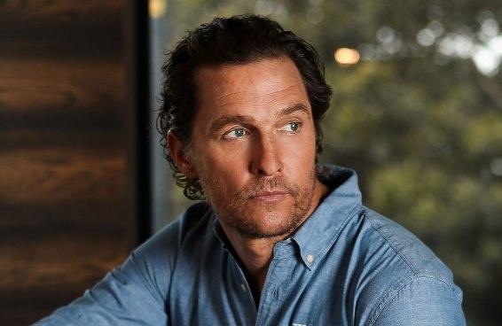 Matthew McConaughey não usa desodorante há 30 anos