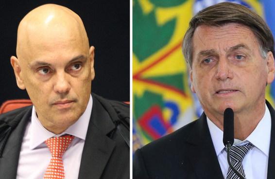 Bolsonaro envia pedido de impeachment do ministro do STF Alexandre de Moraes
