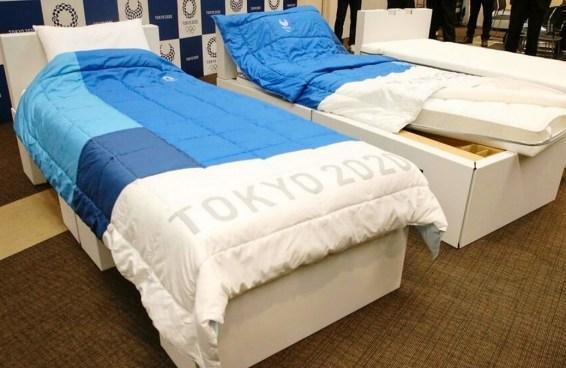 Olimpíadas instalam camas de papelão para impedir sexo - e atletas terão de transar de outros jeitos
