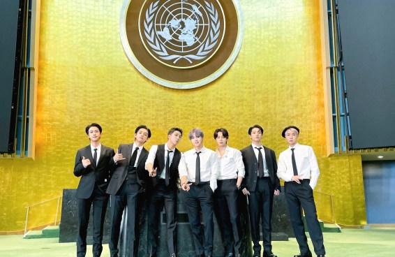 O discurso do BTS na ONU foi histórico