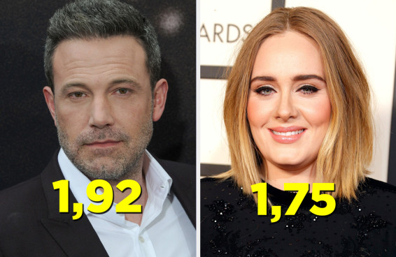 27 famosos que são mais altos do que a gente imagina