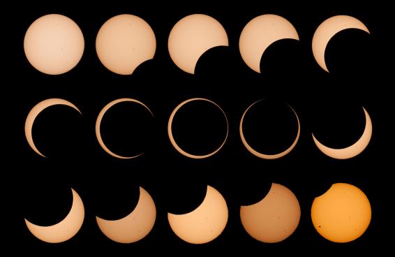 Um eclipse solar pra gente falar o que quer - e ouvir o que não quer