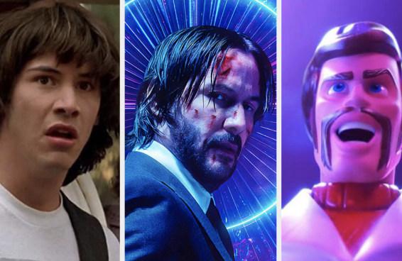 Quantos filmes do Keanu Reeves você já viu?