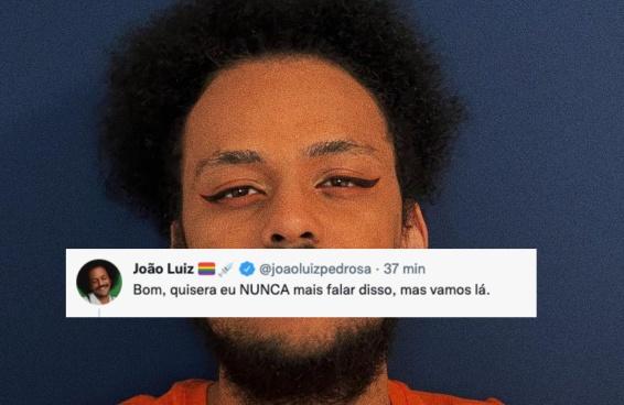 João Luiz desabafa após ataque do presidente da Fundação Palmares