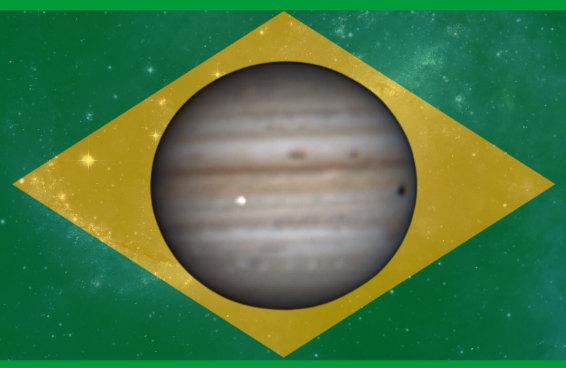 Um brasileiro registrou Júpiter sendo atingido por um meteoro - e a internet pirou