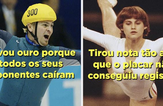 28 fatos sobre as Olimpíadas que vão te deixar passado