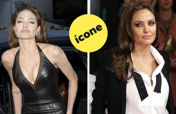 Apenas 9 imagens da Angelina Jolie em tapetes vermelhos porque seus olhos merecem