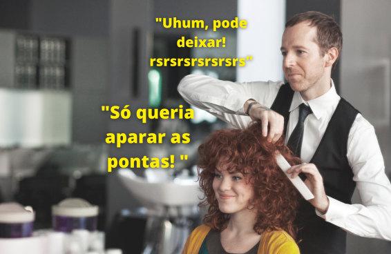 Dê instruções ao nosso cabeleireiro e te mostramos como ficará seu corte