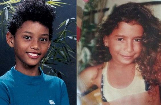 10 fotos de celebridades brasileiras de quando eram crianças