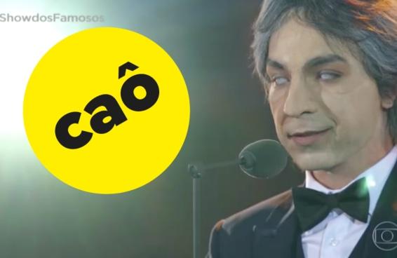 """No aniversário de Andrea Bocelli, lembramos da inacreditável apresentação de Di Ferrero no """"Show dos Famosos"""""""