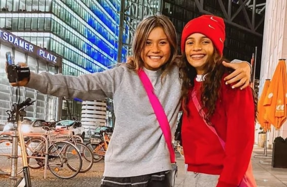 A internet está encantada com a amizade de Rayssa Leal e Sky Brown