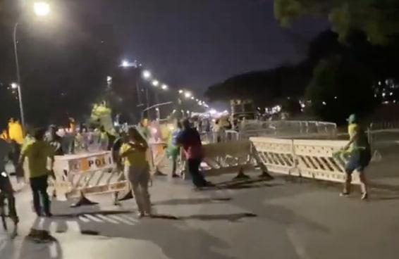 O 7 de setembro começa com ameaça de golpe em Brasília e arruaceiros sem punição