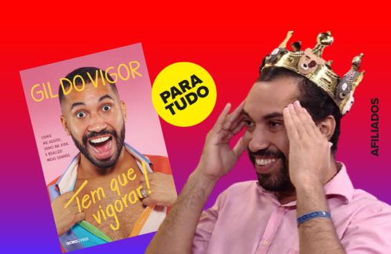Biografia de Gil do Vigor já é a mais vendida mesmo antes do lançamento oficial
