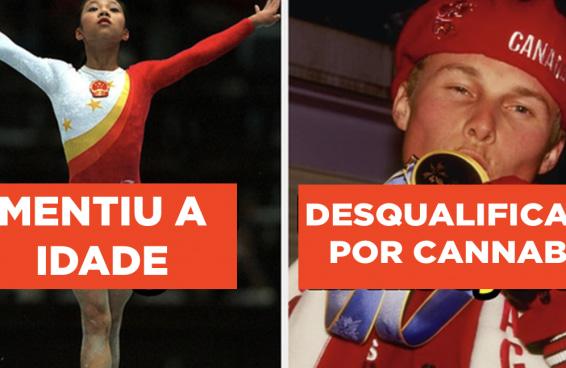 14 história bizarras de atletas que perderam suas medalhas olímpicas