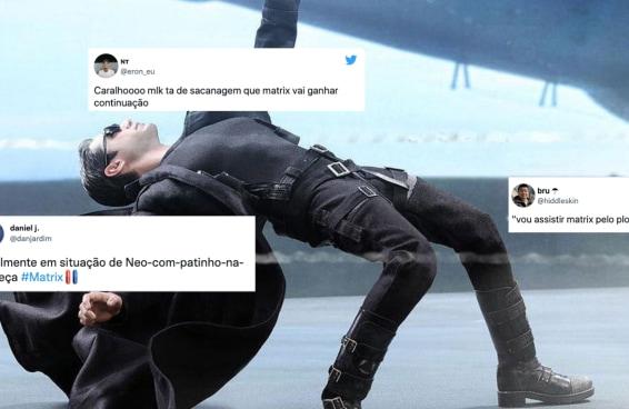 """Os fãs não estão conseguindo desviar do trailer de """"Matrix Resurrections"""""""