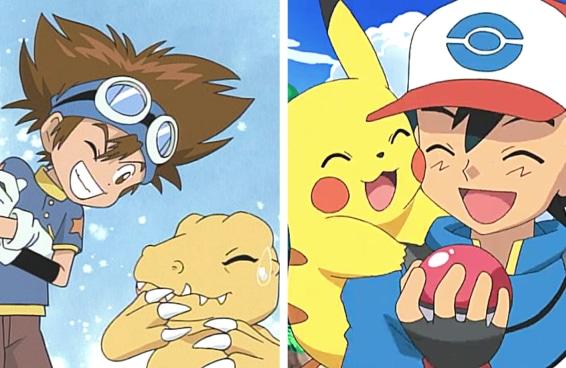 Você é mais 'Digimon' ou 'Pokémon'?