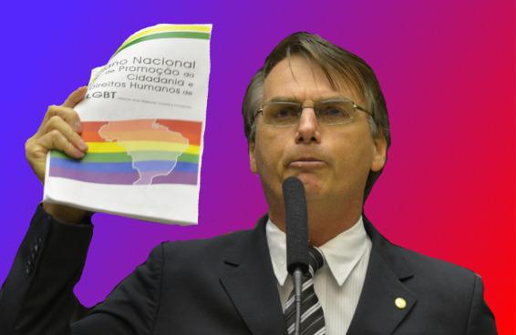 Um presidente homofóbico é sintoma de uma sociedade doente