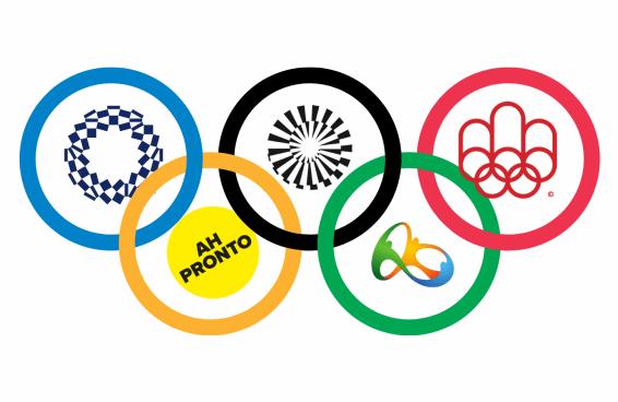 Você consegue identificar a sede destas olimpíadas só pelo logo?