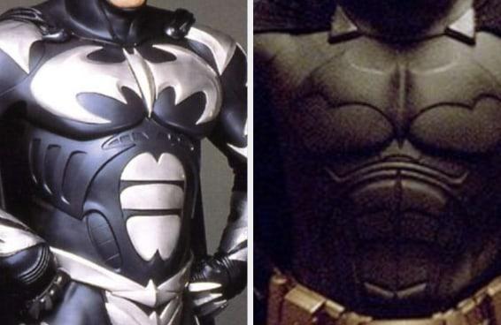 Tente identificar o filme do Batman pelo figurino que ele usa