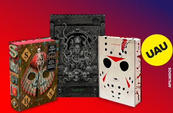 10 livros de terror assustadoramente lindos