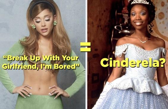 Escolha músicas de Ariana Grande e a gente diz que princesa da Disney é você