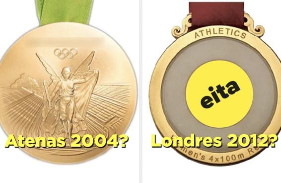 Você consegue adivinhar a edição da Olimpíada pelo design das medalhas?