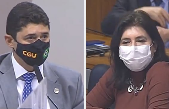 Olha o machismo! Wagner Rosário, ministro da CGU, baixa o nível ao chamar senadora de 'descontrolada' na CPI