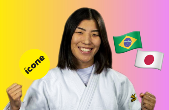 O Brasil agradece à judoca Gabriela Chibana