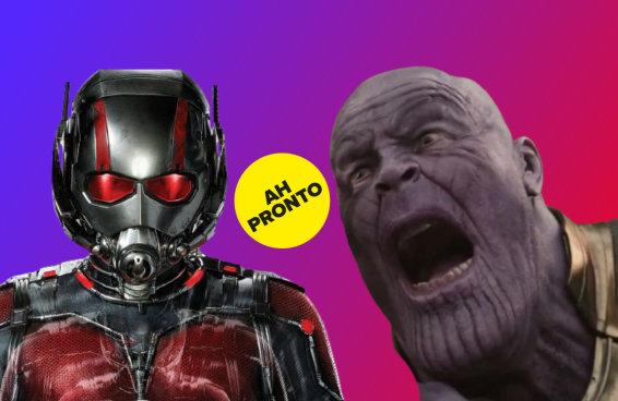 A Marvel revelou o que rolaria se o Homem-Formiga entrasse no ~cy~ do Thanos