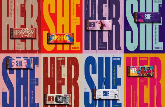 8 artistas incríveis envolvidas com a nova campanha da Hersheys