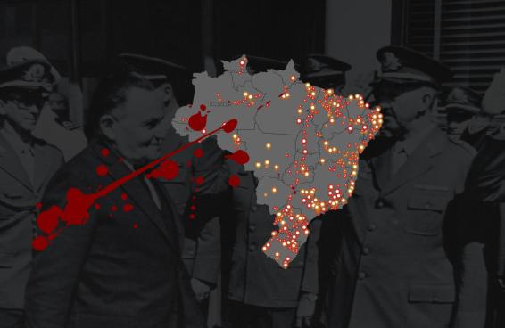 Ao menos 559 escolas, ruas e obras ainda homenageiam ditadores brasileiros