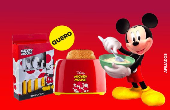 12 itens de cozinha do Mickey para você esquecer que é adulto