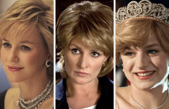 9 atrizes que já interpretaram a Princesa Diana