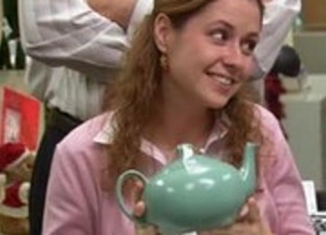 O bule de chá