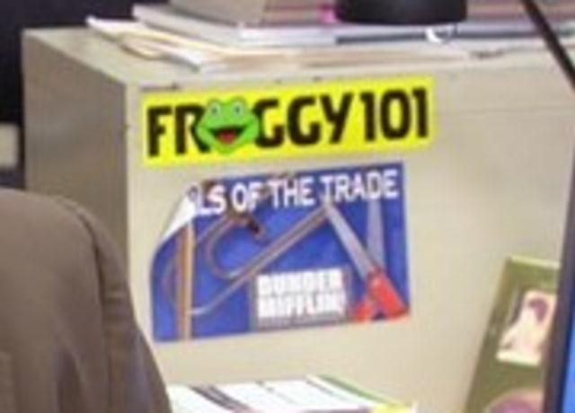 """Adesivo """"Froggy 101"""""""