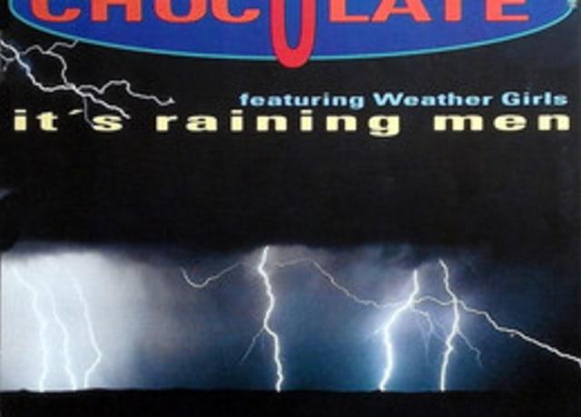 Capa do album it`s raining man